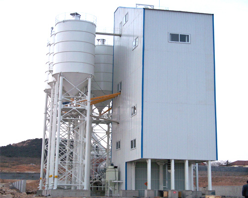 dry mortar plant in Aimix