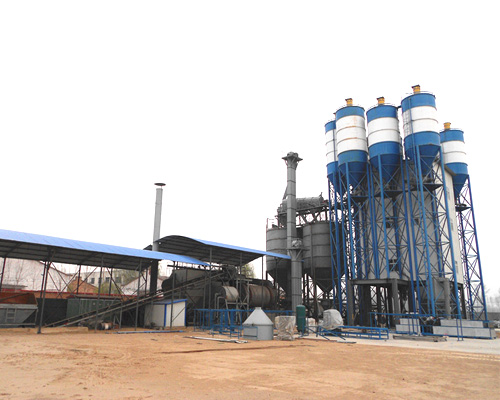dry mortar production machine