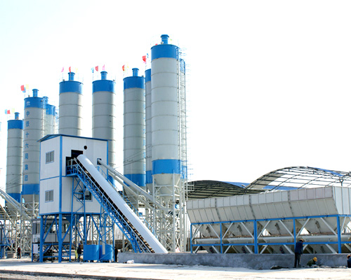 concrete mixing plant for hot sale
