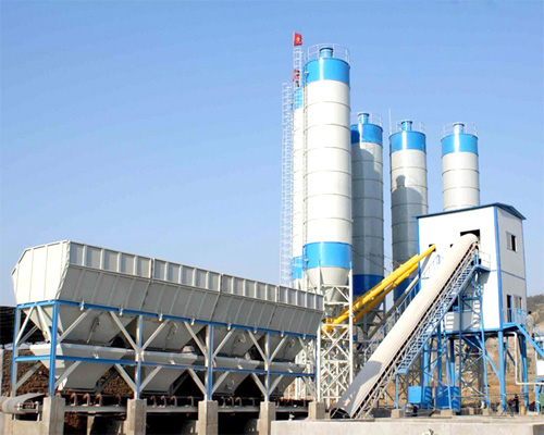 Concrete batch plant