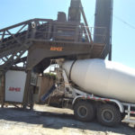 Mobile concrete batching plant for sale in Thailand