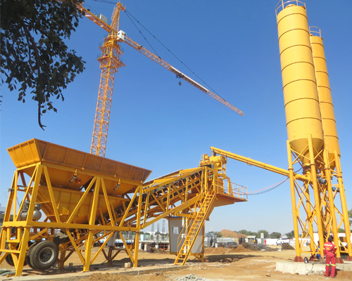 mobile concrete plant for sale in Thailand