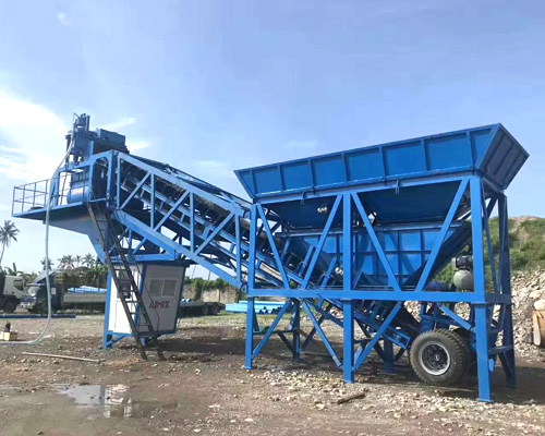 mobile concrete equipment