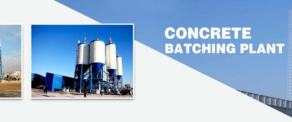 Hot sale concrete batching plant for sale