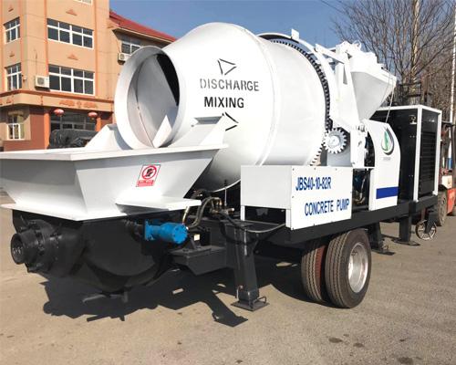 Aimix concrete mixer pump