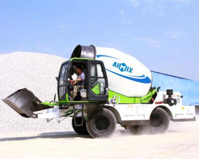 Portable concrete mixer for sale in Thailand