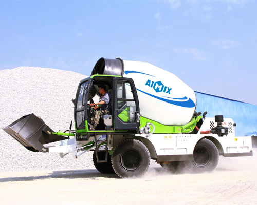 Portable concrete mixer for sale in Thailand