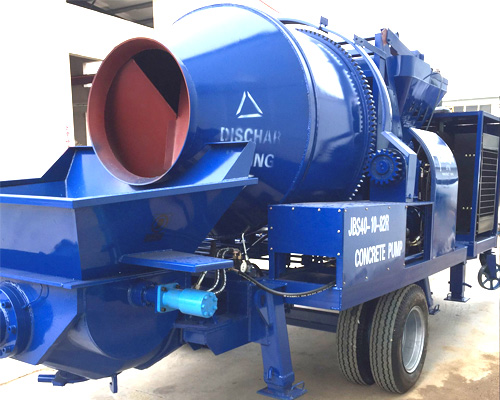 Diesel concrete pump from Aimix