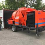 Aimix concrete mixer pump is well prepared to be transported to Thailand