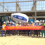 Fast Installation of Portable Cement Mixer in Thailand By Aimix Group Service Team