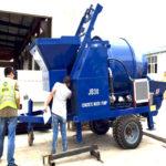 30 m3/h Electric Concrete Mixer Pump Exported to Thailand