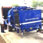 Aimix JBS40 Concrete Mixer Pump Shipped to Thailand