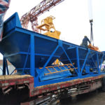 75 m3/h Concrete Batching Plant Shipped for Thailand