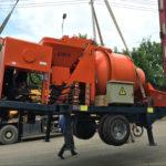 30 m3/h Concrete Mixer Pump Exported to Thailand