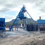 AJ-50 m3/h Concrete Batching Plant Installed in Thailand