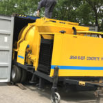 Aimix 40 m3/h Concrete Mixer Pump Exported to Thailand