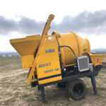 Aimix JBS30 Concrete Mixer Pump Exported to Thailand