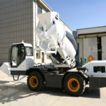 Aimix AS-3.5 Portable Cement Mixer Exported to Thailand