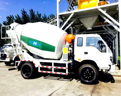 Cement truck in Thailand