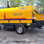Mobile Concrete Pump for Sale in Thailand