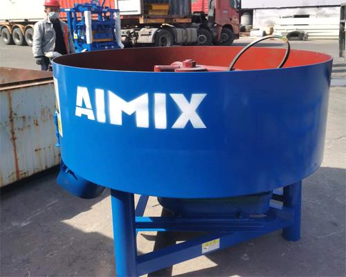 aimix concrete pan mixer