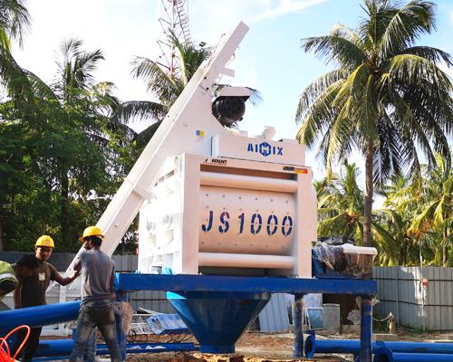 cement mixer machine in Thailand