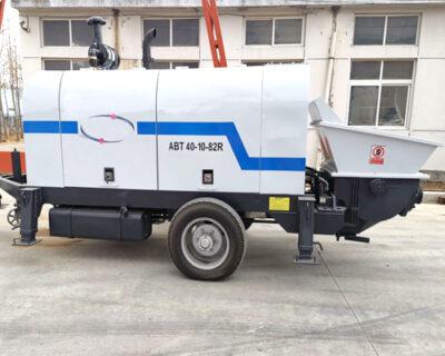 concrete pump machine in Thailand