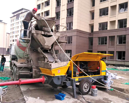the best concrete pump in Aimix