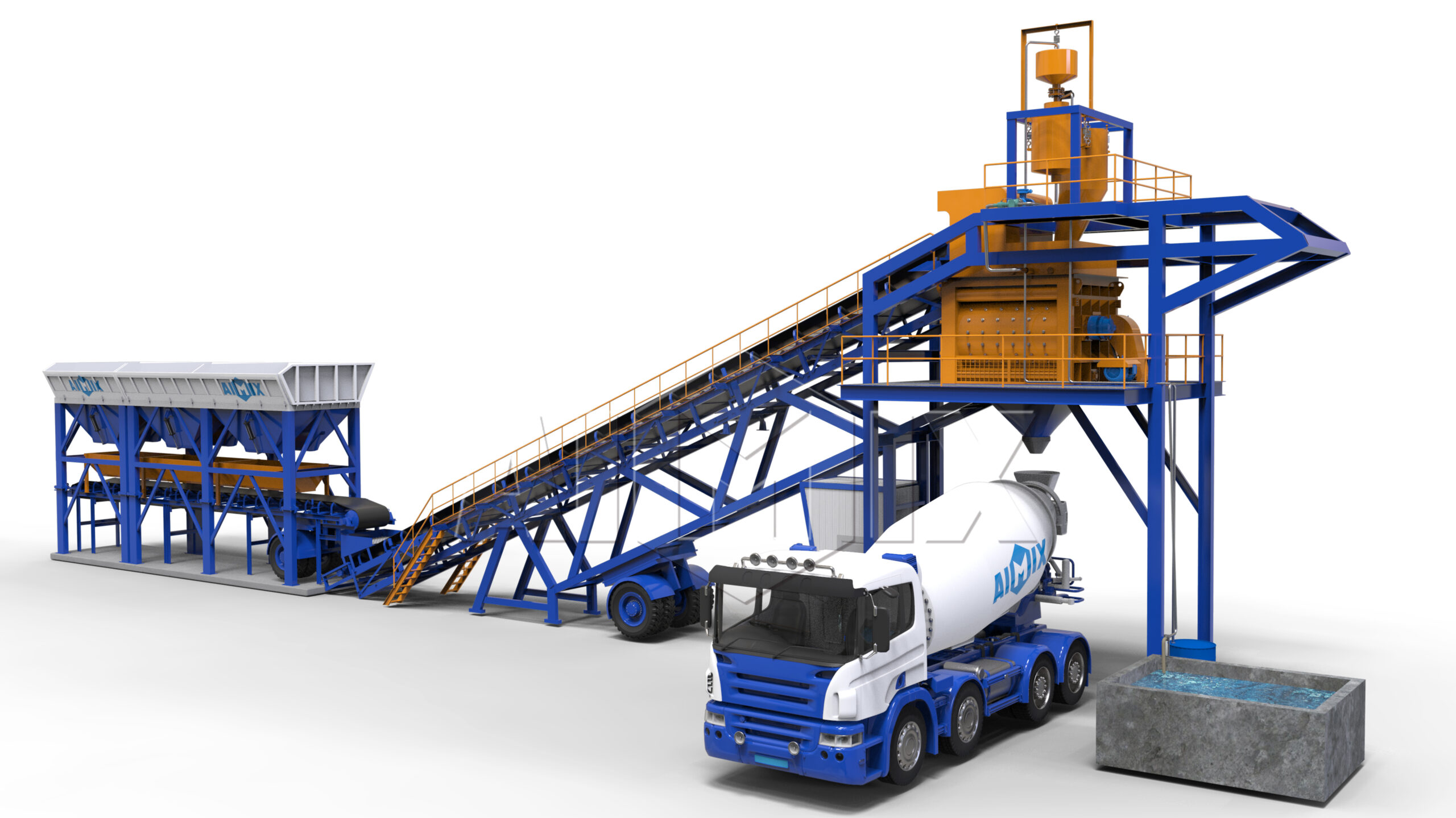 mobile concrete batch plants